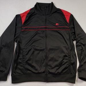 Starter Polyester Black Track Jacket Mens Large